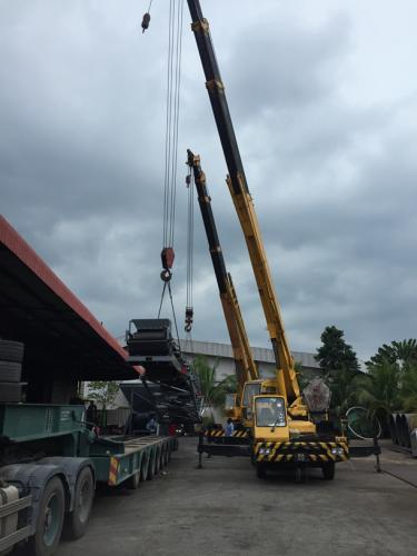 Loading-oversize-work-piece